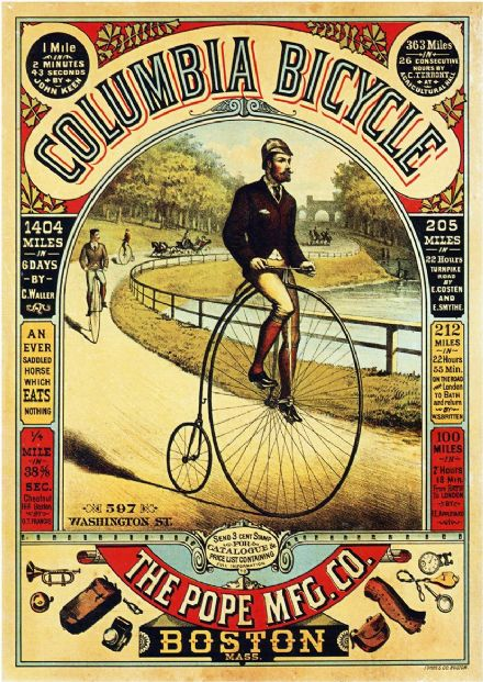 Columbia Bicycle Vintage Advertising Print/Poster (4888)